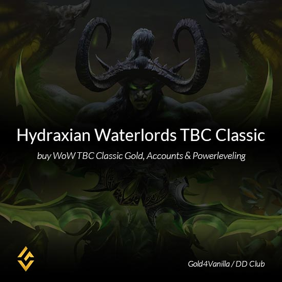 Hydraxian Waterlords TBC Classic Gold