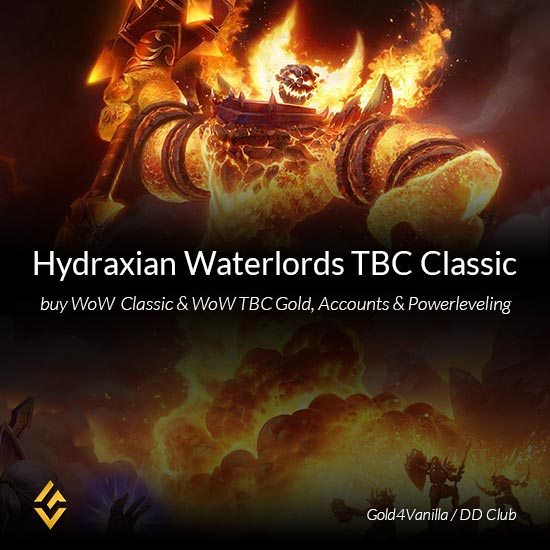 Hydraxian Waterlords Gold