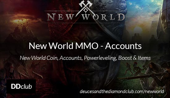 New World Accounts - Buy Account for New World MMO
